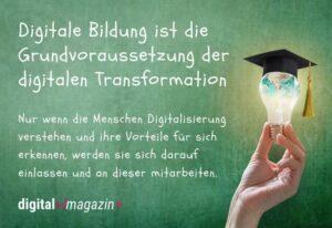 Digitale Bildung – Informationen können Ängste nehmen