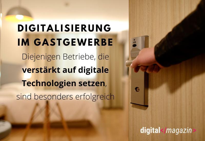 Digitalisierungsindex 2019/2020 – Das Gastgewerbe wird digital