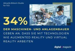 Maschinenbau wird digital – AR und VR sind auf dem Vormarsch