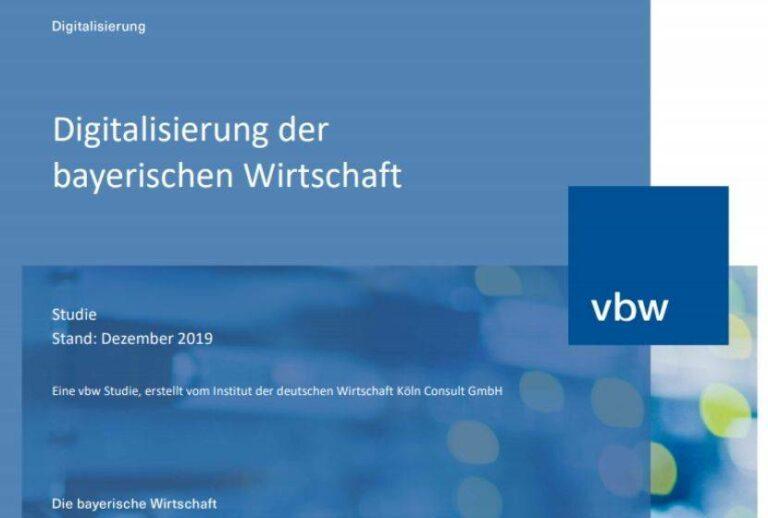 Digitalisierung der bayrischen Wirtschaft