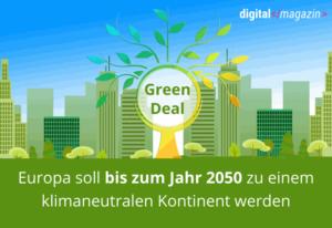 Die Digitalisierung ist Ursprung und Lösung zahlreicher Klimaprobleme