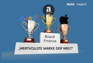 Wertvollste Marke der Welt – Amazon belegt Platz 1