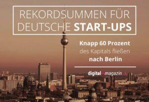 Rekordinvestitionen in Start-ups