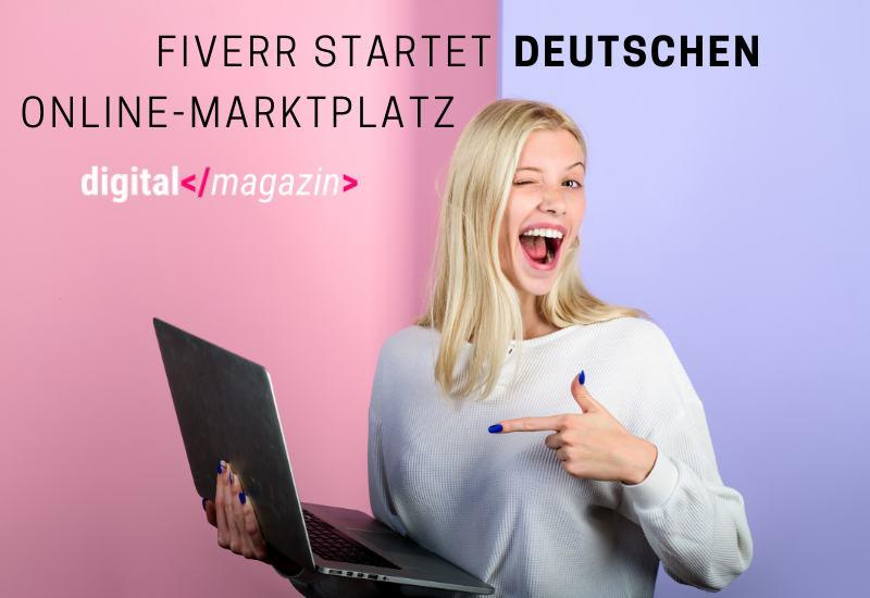 Fiverr kommt nach Deutschland