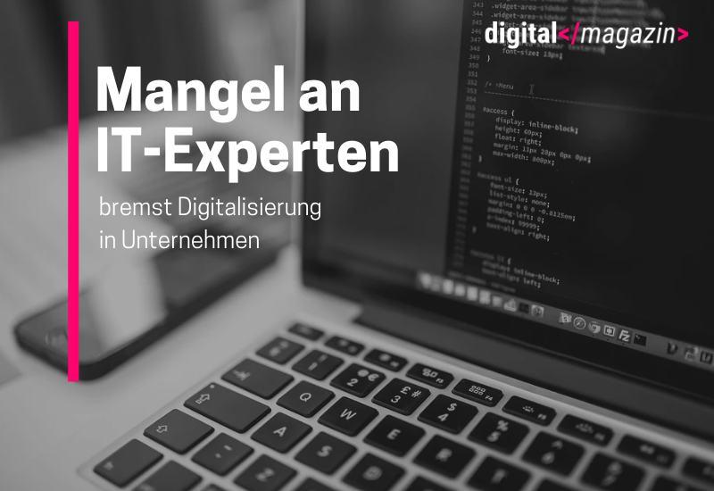 Personalmangel in der IT-Branche gefährdet die digitale Transformation der deutschen Wirtschaft