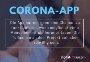 Corona-App – notwendiger Schutz oder datenschutzrechtlicher Wahnsinn?