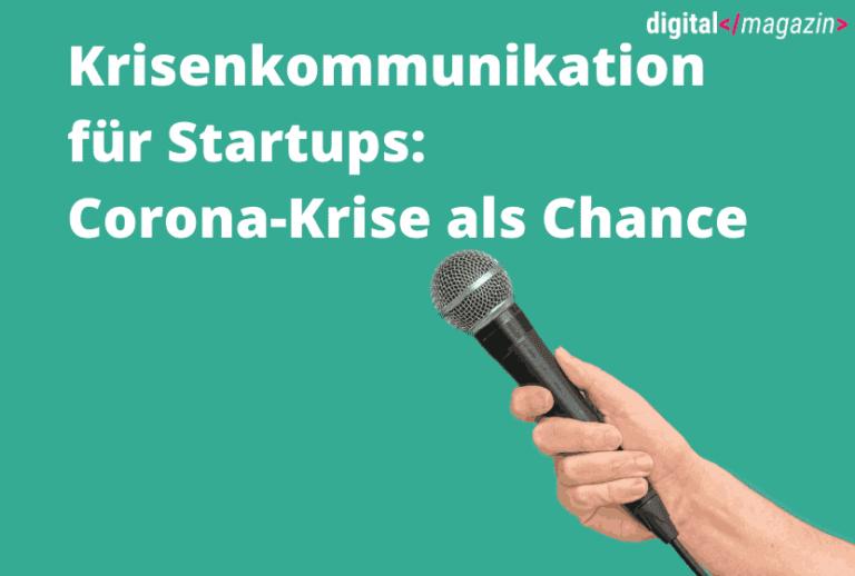 Krisenkommunikation für Startups