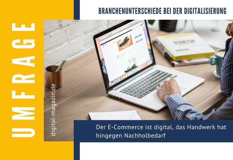 Branchenspezifische Unterschiede bei der Digitalisierung