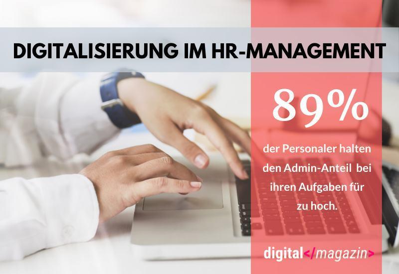 Personalmanagement zu wenig digitalisiert