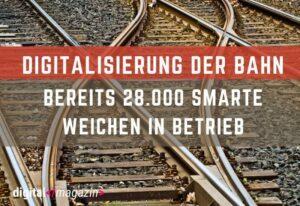 Weichenstörungen verhindern – Deutsche Bahn setzt auf Digitalisierung