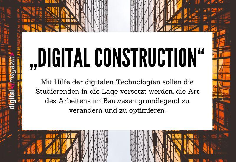 Bauwirtschaft digital gedacht – die Hochschule Luzern bietet neuen Studiengang