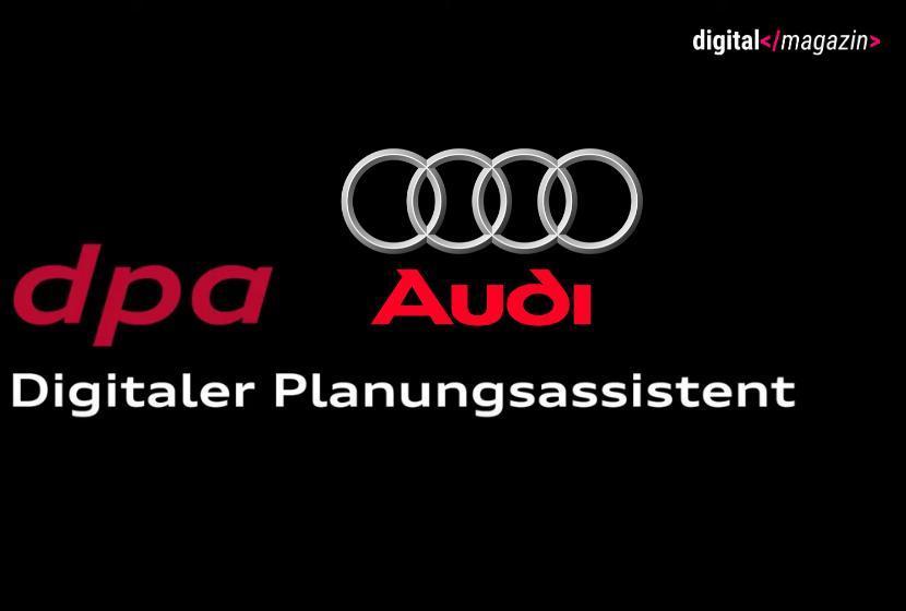 dpa Montage bei Audi