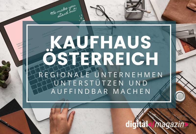 """Virtuelles """"Kaufhaus Österreich"""" – so soll der regionale Einzelhandel gestützt werden"""