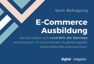 E-Commerce Ausbildung kommt gut an