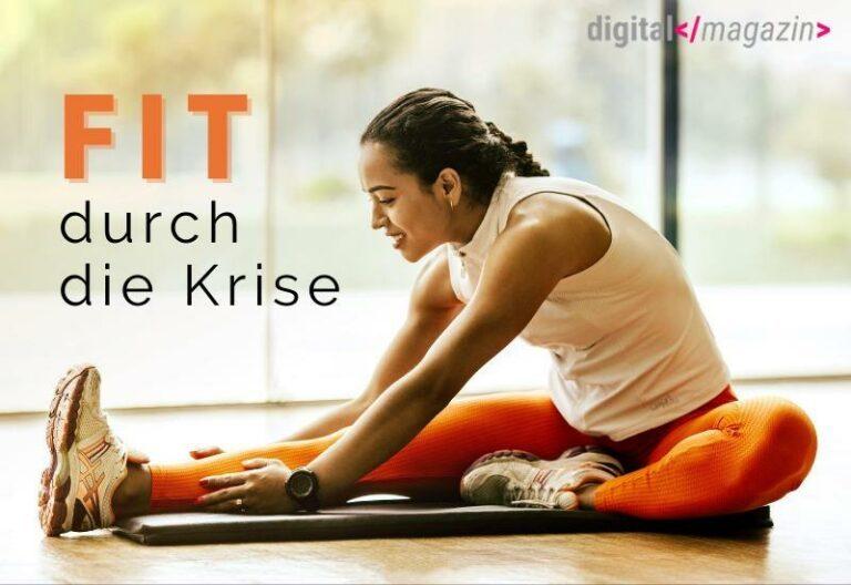 Fitness-Branche wird digital – viele Deutsche machen ihr Zuhause zum Fitnessstudio
