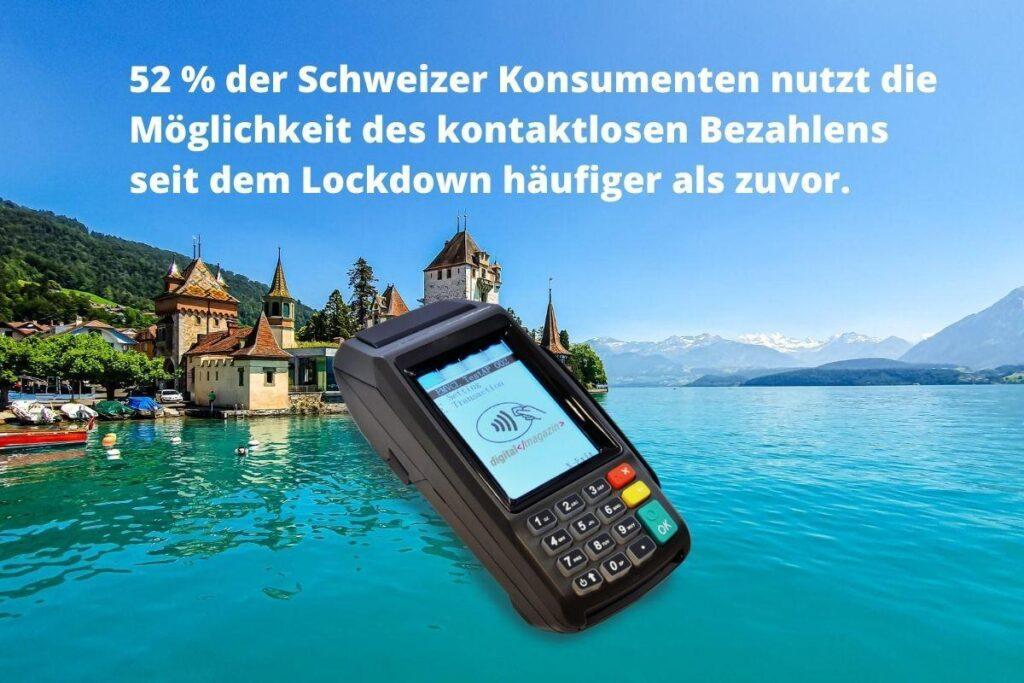 kontaktloses bezahlen Schweiz