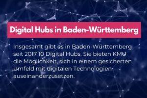 Hubs in Baden-Württemberg werden von KMU rege genutzt