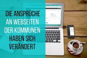 Kommunen brauchen attraktive Webseiten