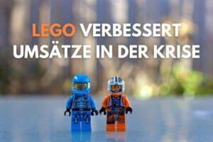 LEGO kommt dank Digitalisierung gut durch die Krise