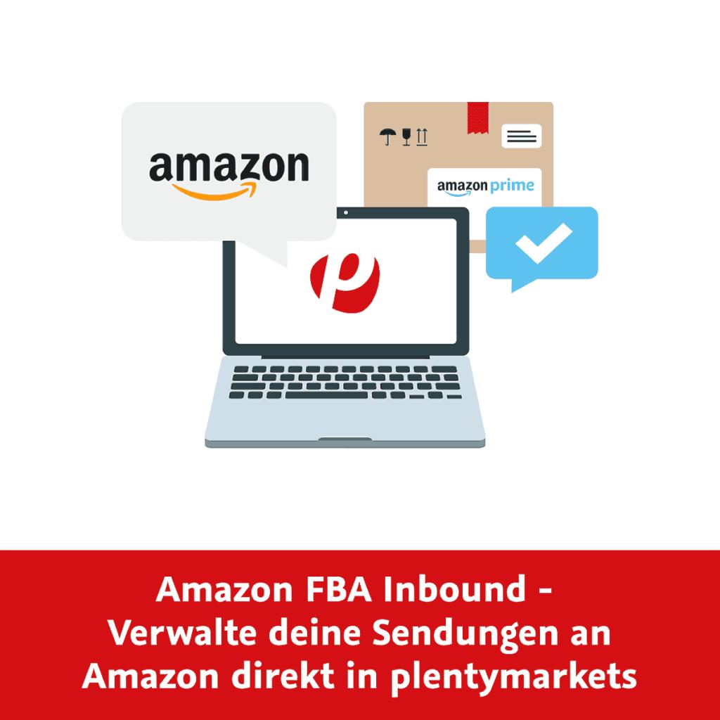 """""""Amazon FBA Inbound""""-Schritte direkt in plentymarkets"""