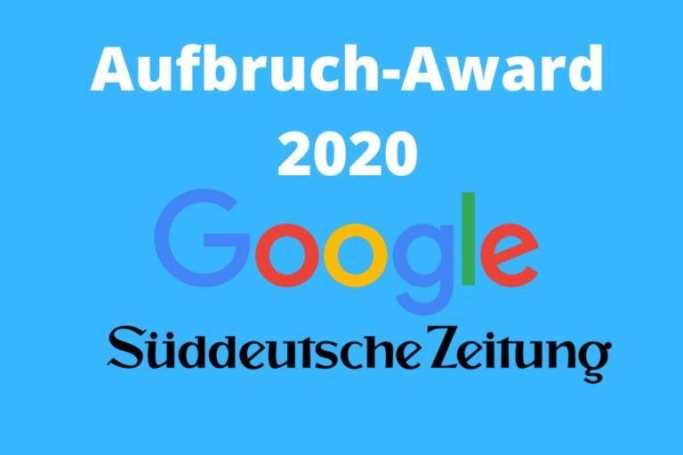 Aufbruch Award 2020
