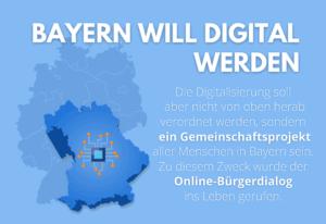 Bürgerdialog in Bayern – die Digitalisierung der Kommunen schreitet voran