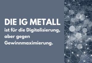 IG Metall protestiert gegen Stellenabbau in Gunzenhausen im Namen der Digitalisierung