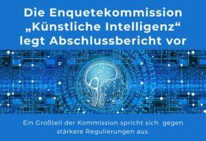 Regulierungen für KI kommen wohl nicht – Enquetekommission legt Abschlussbericht vor
