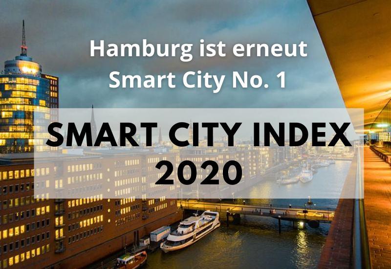 Deutschlands digitalste Städte - Smart City Index 2020