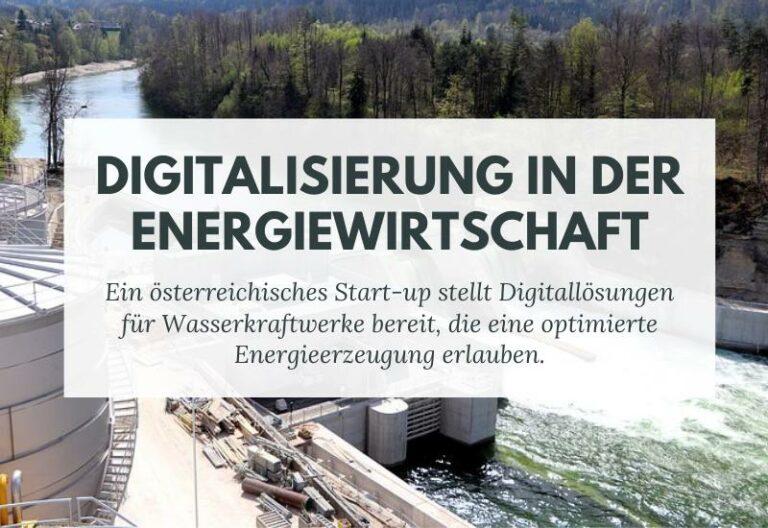 Lösung für Wasserkraftwerke – digitaler Autopilot optimiert die Stromerzeugung
