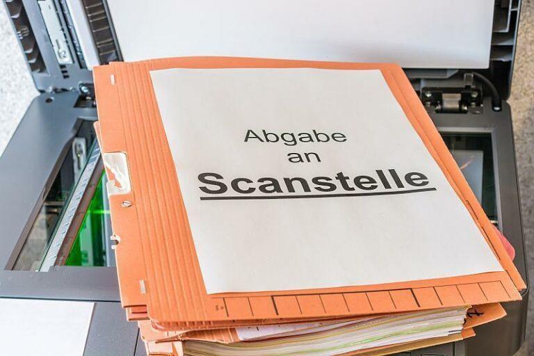 Digitalisierung: deutsche Behörden weit entfernt vom papierlosen Büro