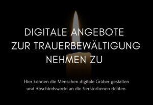 Abschied nehmen digital – Grabpflege im Internet