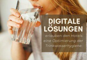 Hotels digitalisieren die Trinkwasserhygiene