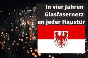 Glasfaserausbau Brandenburg