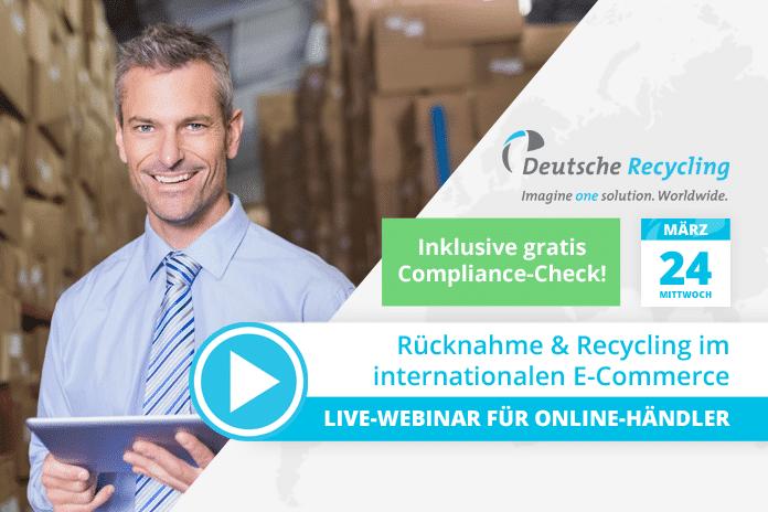 Webinar: Rücknahme & Recycling im internationalen E-Commerce
