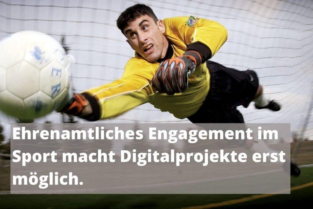 Ehrenamtliches Engagement macht Digitalprojekte erst möglich.