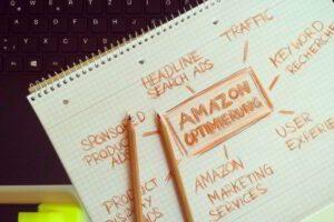 Onlinehändler auf Amazon