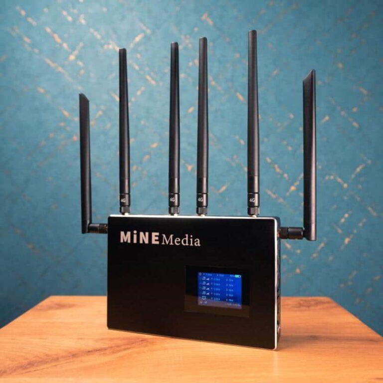 Internet Bonding Modem 4G