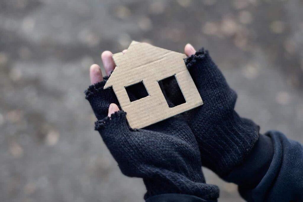Unterbringungssystem gegen Wohnungslosigkeit