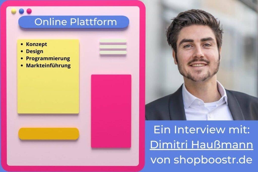 Interview mit Dimitri Haussmann